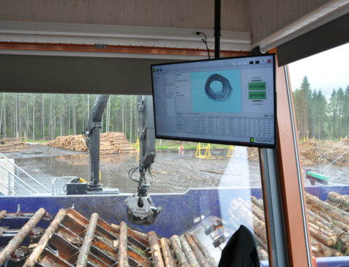 Digital revolution in the Estonian forestry and wood industry